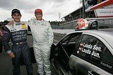 DTM - Mathias Lauda - die 3. Session in greifbarer N�he...