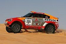 WRC - Tunesien, 6. Etappe: Peterhansel hat Sieg vor Augen