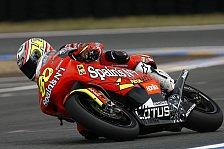 MotoGP - Warm-Up 250cc: Barbera, Lorenzo, de Angelis