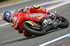 MotoGP - Rennen 250cc: Titel für Lorenzo, erster Sieg für de Angelis