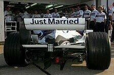 Formel 1 - Hektik auf der Hochzeitsmesse