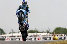 MotoGP - 2012 wieder mit zwei Bikes?: Suzuki baut schon am 1000er Prototypen