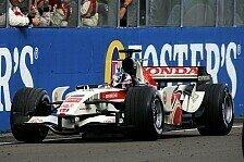 Formel 1 - Ohne Flei� kein Preis: Ohne Regen kein Honda-Sieg