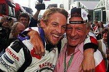 Formel 1 - Rosafarbenes Menschenmeer: Rosa Silverstone: Erinnerungen an John Button