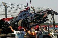 Formel 1 - Bilderserie: Der R�cken! Kimis Krankenakte