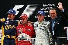 Formel 1 Sotschi - Statistik: Räikkönen holt Barrichello ein