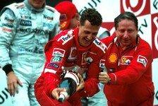 Todt ehrt Michael Schumacher: Er war immer voller Selbstzweifel