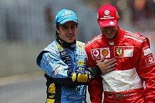 Formel 1, Alonso hat Schumacher-Flashback: Michael oder Mick?