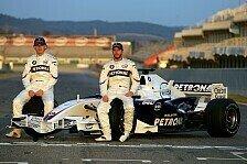 Formel 1 - Heidfeld und Kubica bleiben: BMW Sauber best�tigt Fahrer