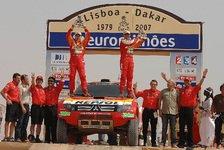 Dakar - Alle auf die Japaner!: Mitsubishi Ralliart