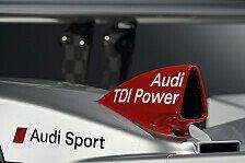 Mehr Motorsport - Der erste H�rtetest: Audi mit zwei R15 nach Sebring