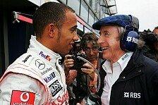 Formel 1 - So ist noch kein gro�er Fahrer gefahren: Stewart: Hamilton muss mehr nachdenken