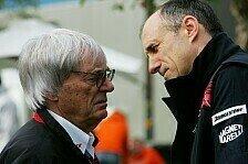 Formel 1 - Ecclestone soll es richten: Chassis-Streit