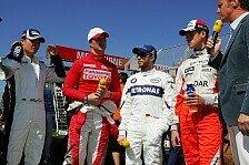Formel 1 - F�nf Deutsche und ein �sterreicher in der Eifel: Immer der Beste sein
