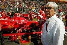 Formel 1 - Ferrari hat noch Titelchancen: Ecclestone ist �berzeugt