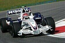 Formel 1 - Endlich ein problemfreies Rennen: Kubica hofft