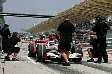 Formel 1 - Das Arbeitsprotokoll des 2. Testtages: Testing Time