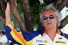 Formel 1 - Korrektur in drei Rennen: Briatore gesteht Fehler
