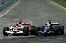 Formel 1 - Super Aguri vs. Honda: Evolution bei Honda