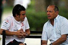 Formel 1 - Nur eine Sache ist wichtig: Gewinnen!: Dennis �ber Alonso-R�ckkehr: Sag niemals nie