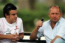 Formel 1 - R�ckkehr 2015?: Dennis: Alonso bei McLaren willkommen