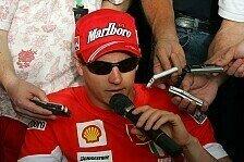 Formel 1 - Es ist noch zu fr�h: Kimi R�ikk�nen