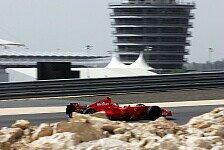 Formel 1 - Die erste Reihe ist wichtig: R�ikk�nen jagt in Bahrain die Pole Position