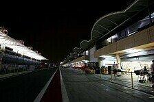 Formel 1 - Der erste Schritt in die Nacht: FIA absolviert ersten Test