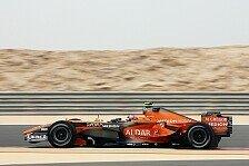 Formel 1 - Neues Auto schon am N�rburgring: Plan�nderungen bei Spyker