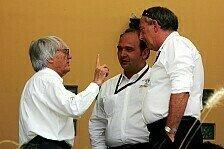 Formel 1 - Ecclestone will eine L�sung schon in Indianapolis: Kundenauto-Streit