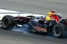 Formel 1 - Erst Coulthard, dann der Regen: Barcelona, Tag 4