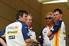 Formel 1 - Auf Schlagdistanz zu BMW: Renault-Chefingenieure glauben