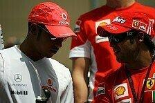 Formel 1 - Ungewissheit �ber die Konkurrenz: Felipe Massa