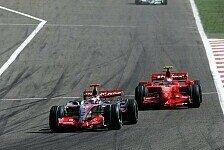 Formel 1 - Neue Teile st�rken Kimis Zuversicht: Ferrari r�stet auf