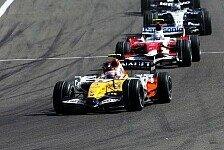 Formel 1 - Einen Punkt verloren: Renault gegen Trulli