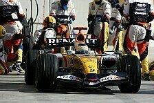 Formel 1 - Nachhilfe vom Nachfolger: Renault l�sst nichts unversucht