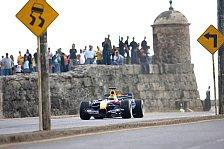 Formel 1 - Cartagena im Formel 1 Fieber: Red Bull in Kolumbien