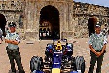 Formel 1 - Bilder: Red Bull Showfahrt in Kolumbien
