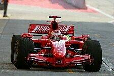 Formel 1 - Spanien f�hrt zun�chst in Rot: Barcelona, Tag 1