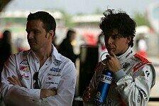 Formel 1 - Keine Ausfahrt am Freitag: Entt�uschung f�r Valles
