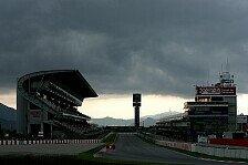 Formel 1 - Rot auch im Regen top: Barcelona, Tag 2