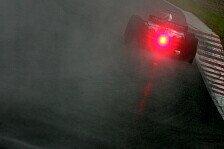 Formel 1 - Das Arbeitsprotokoll des 2. Testtages: Raining Time