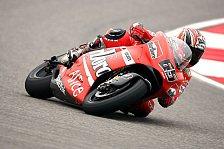 MotoGP - Ducati zunächst zufrieden