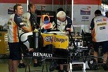 Formel 1 - Nicht repr�sentativ: Renault beschwichtigt