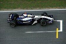 Formel 1 - Aufholjagd: Williams hatte viel zu tun
