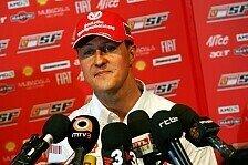 Formel 1 - Nur zu Besuch: Michael Schumachers Gedanken sind frei