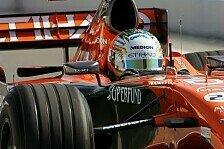 Formel 1 - Auf Schlagdistanz: Spyker will es wissen