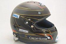 Formel 1 - Im Wechselspiel mit der Temperatur: Nick Heidfelds Helm