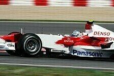 Formel 1 - Im Verkehr h�ngen geblieben: Jarno Top - Ralf Flop