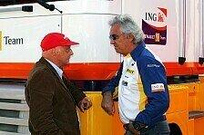 Formel 1 - Vertrauen in Ecclestone: Lauda: F1 braucht Briatore nicht